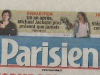 le Parisien 24 juin 2010(couv)